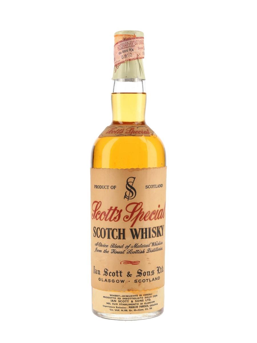 Scott's Special Bottled 1960s - Manlio Parisch 75cl / 43%