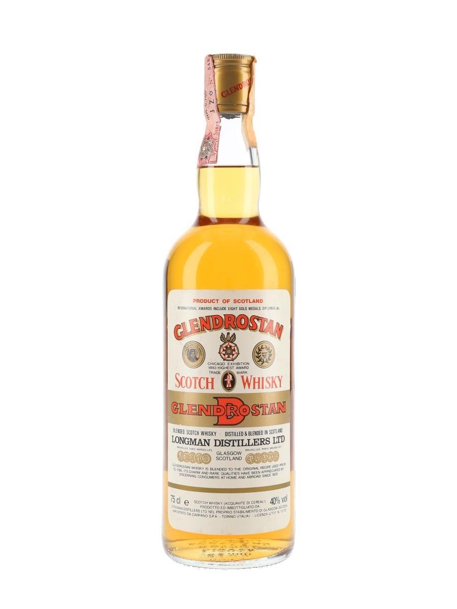 Glendrostan Bottled 1980s - Carpano 75cl / 40%