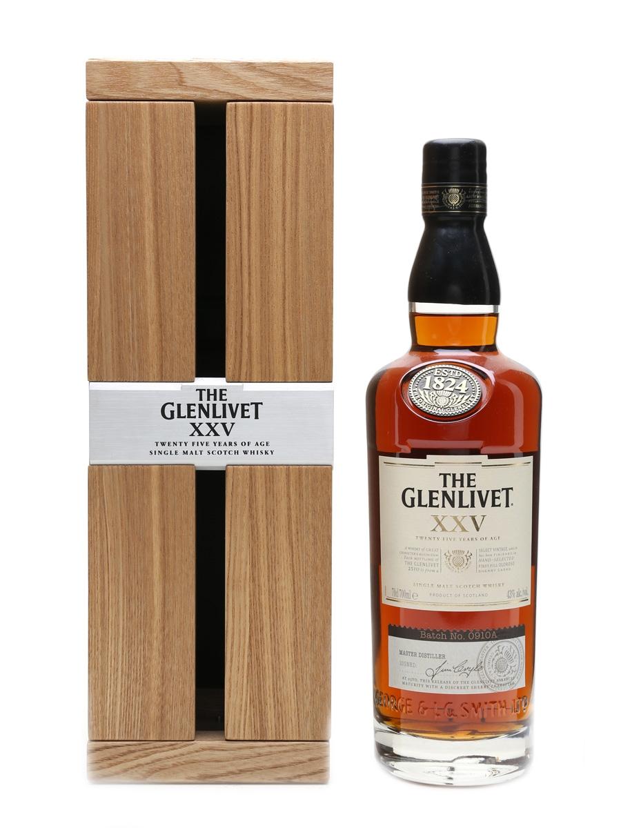 Glenlivet 25 Year Old  70cl / 43%