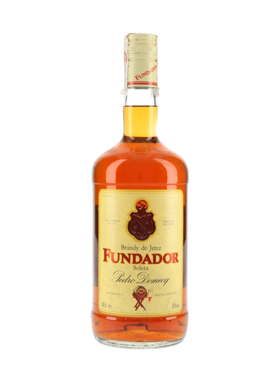 Fundador Solera Reserva Bottled 1990s - Pedro Domecq 100cl / 36%