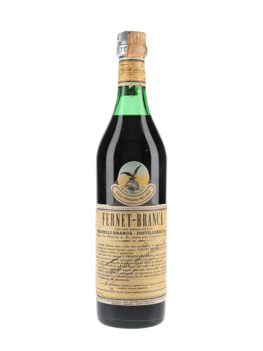 Fernet Branca Bottled 1968 75cl / 45%