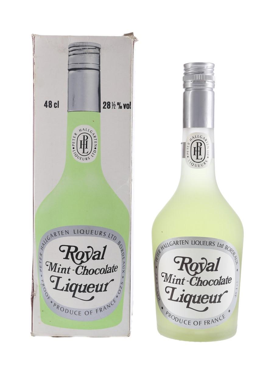 Royal Mint Chocolate Liqueur Bottled 1970s 48.1cl / 28.5%