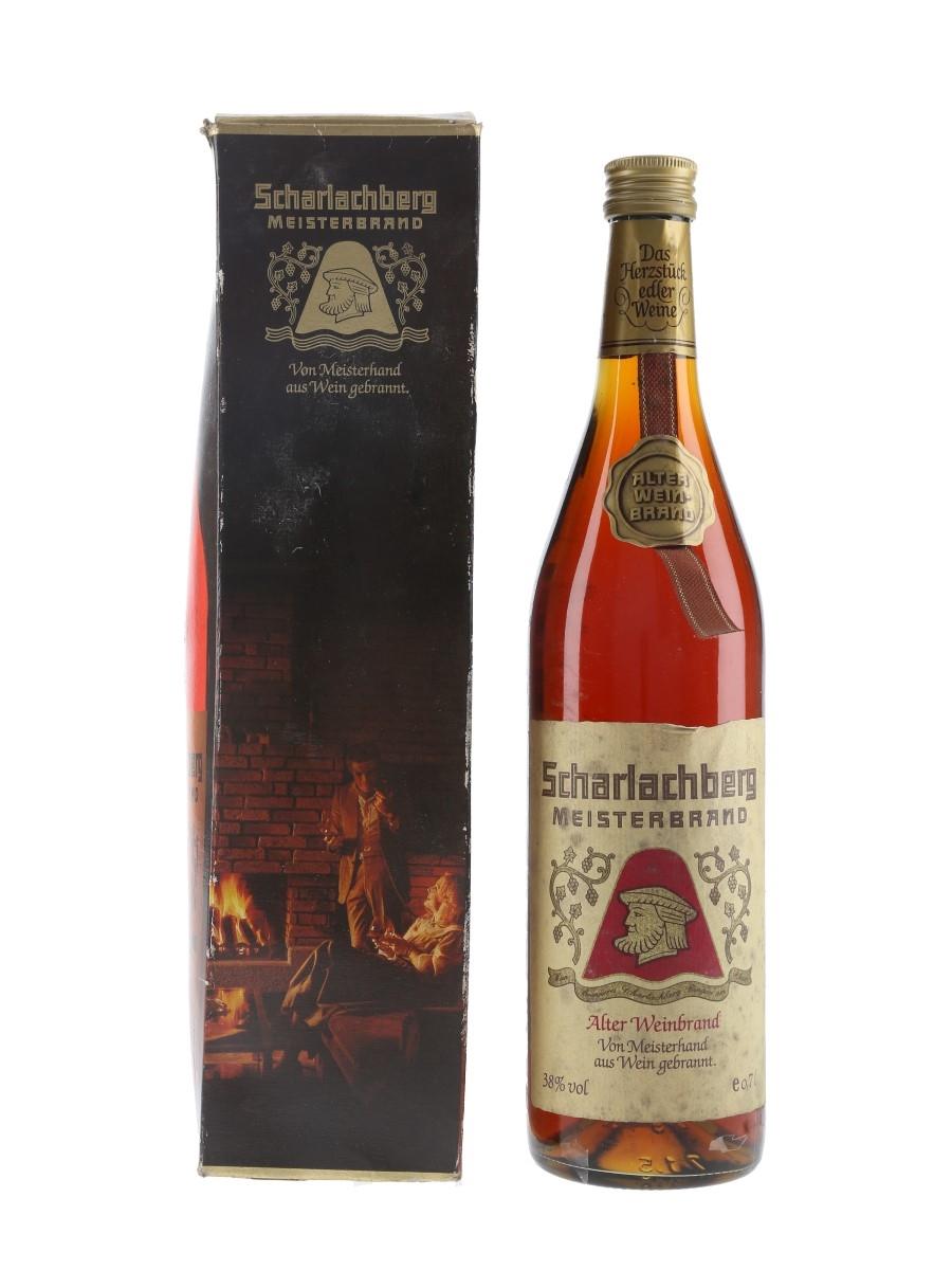 Scharlachberg Meisterbrand Weinbrand Bottled 1980s-1990s 70cl / 38%