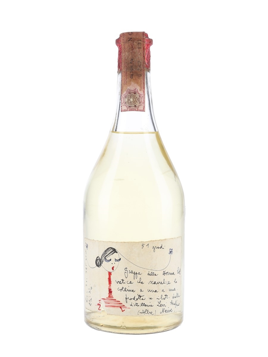 Romano Levi Grappa Della Donna Selvatica Bottled 1970s 75cl / 51%