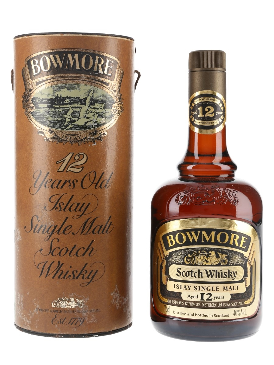 Bowmore 12 Year Old Bottled 1980s 75cl / 40%