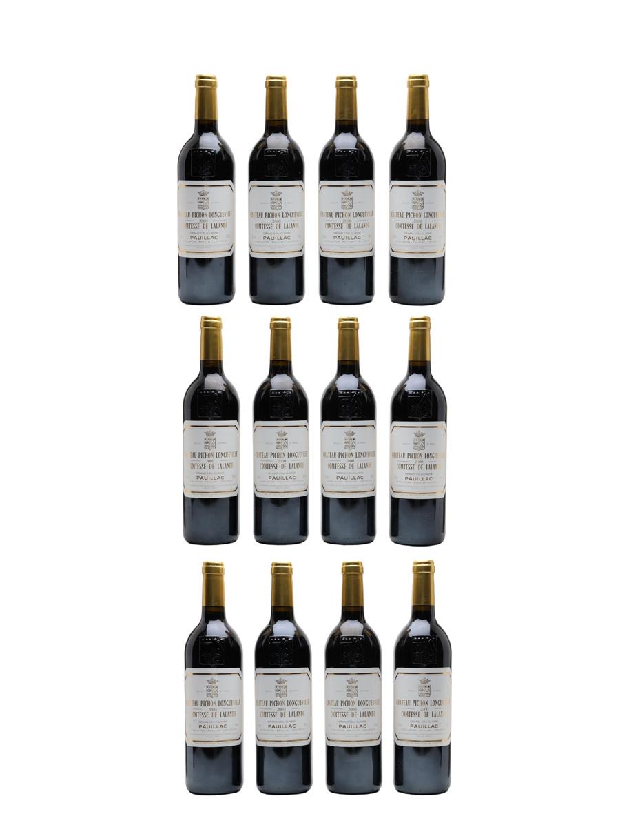 Chateau Pichon Longueville Comtesse De Lalande 2000 Grand Cru Classe - Pauillac 12 x 75cl / 13%