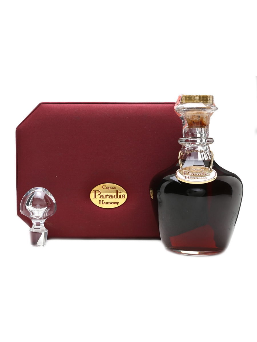 Hennessy Paradis Cognac Baccarat Crystal Decanter 70cl / 40%