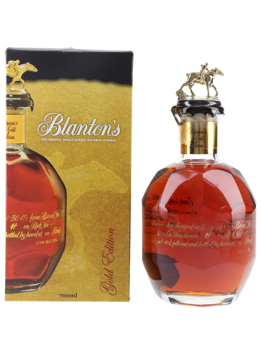 Blanton's Gold Edition Barrel No. 1131 Bottled 2018 70cl / 51.5%