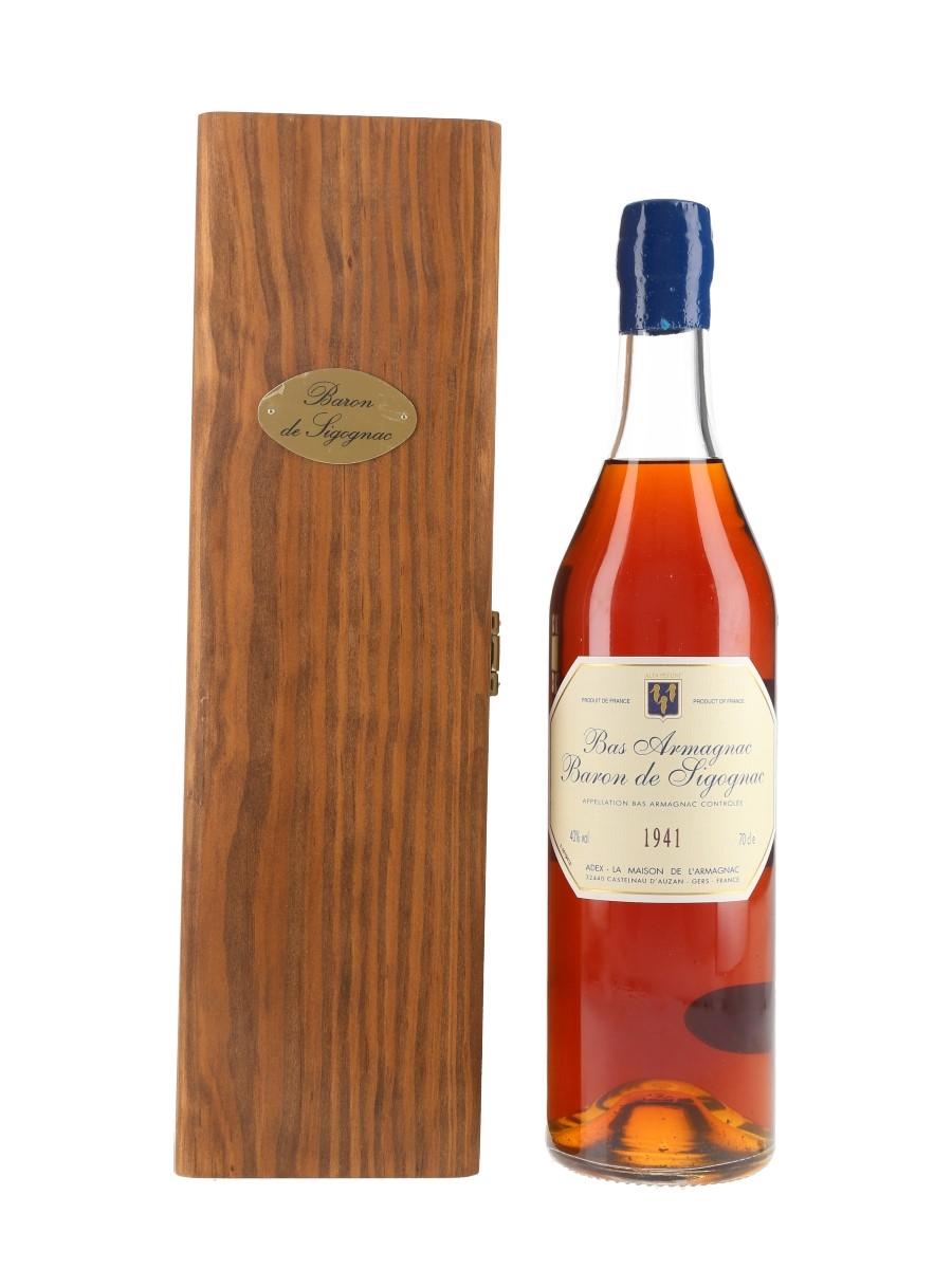Baron De Sigognac 1941 Bas Armagnac Bottled 2001 70cl / 40%