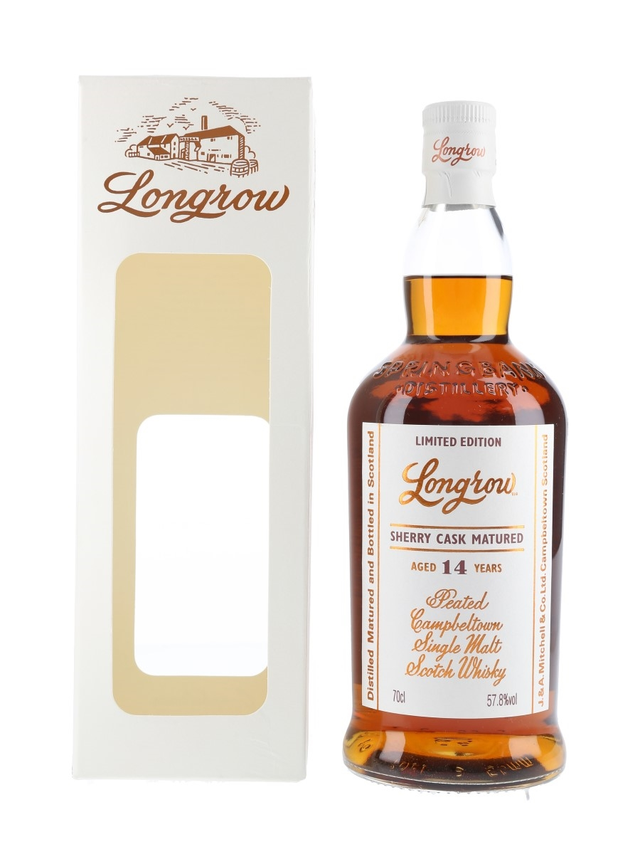 Longrow 2003 14 Year Old Bottled 2018 - Sherry Cask 70cl / 57.8%