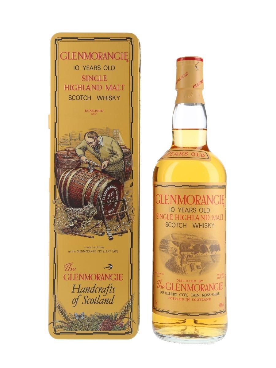 Glenmorangie 10 Year Old Bottled 1980s 75cl / 40%