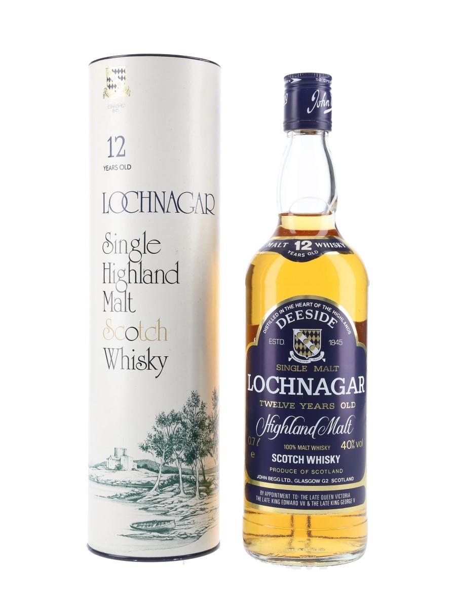 Lochnagar 12 Year Old Bottled 1980s 70cl / 40%