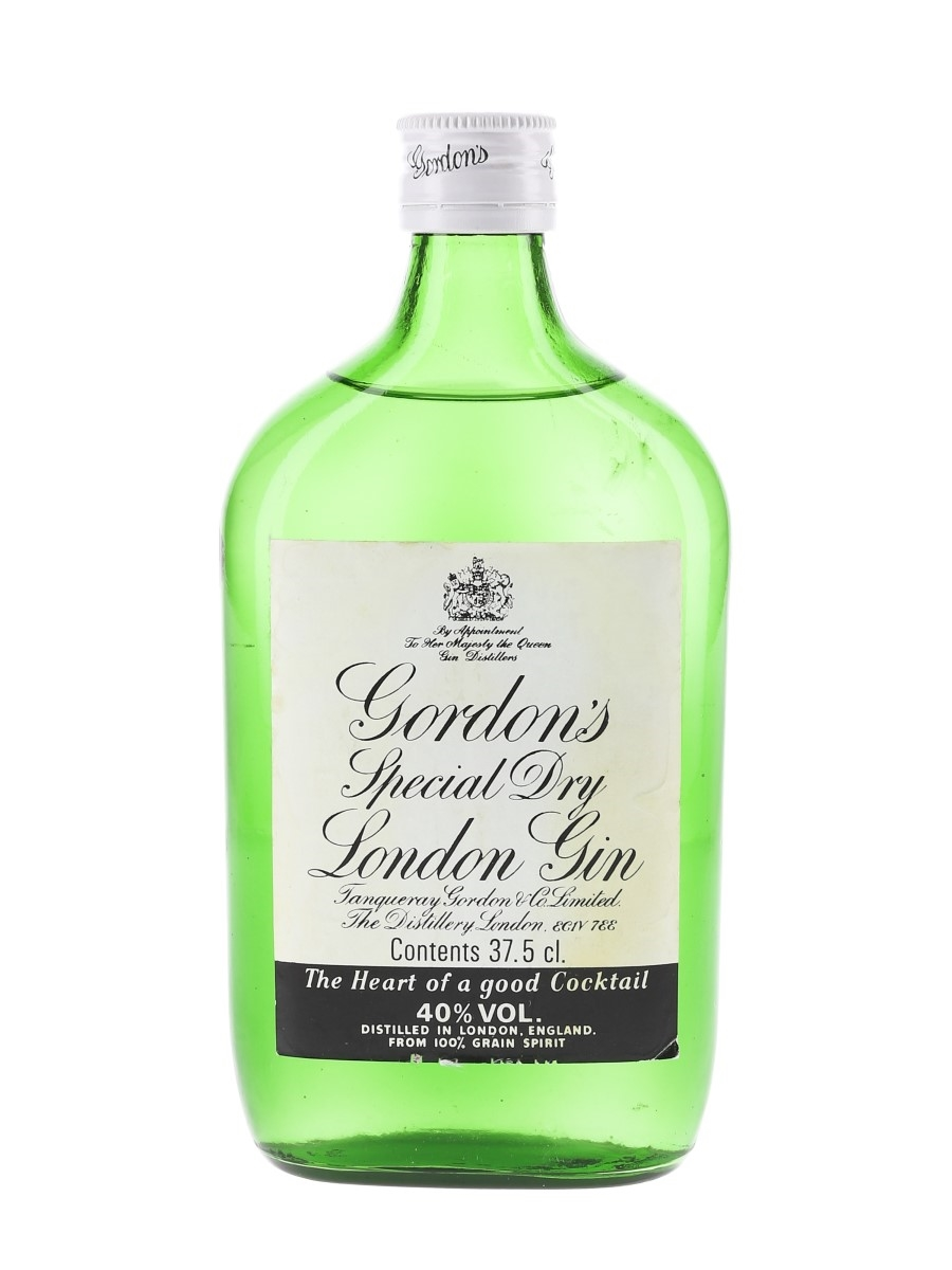Gordon's Special Dry London Gin Bottled 1980s 37.5cl / 40%