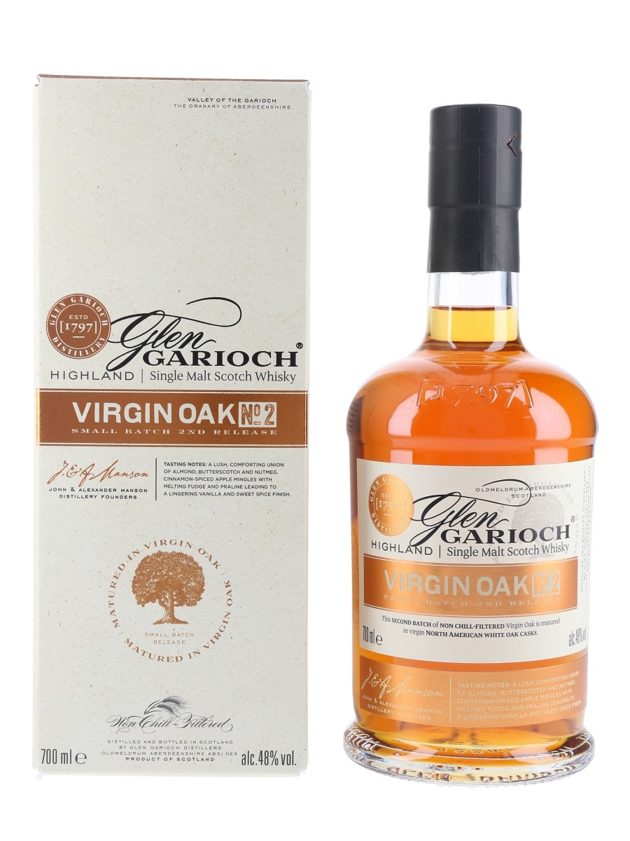 Glen Garioch Virgin Oak No.2  70cl / 48%
