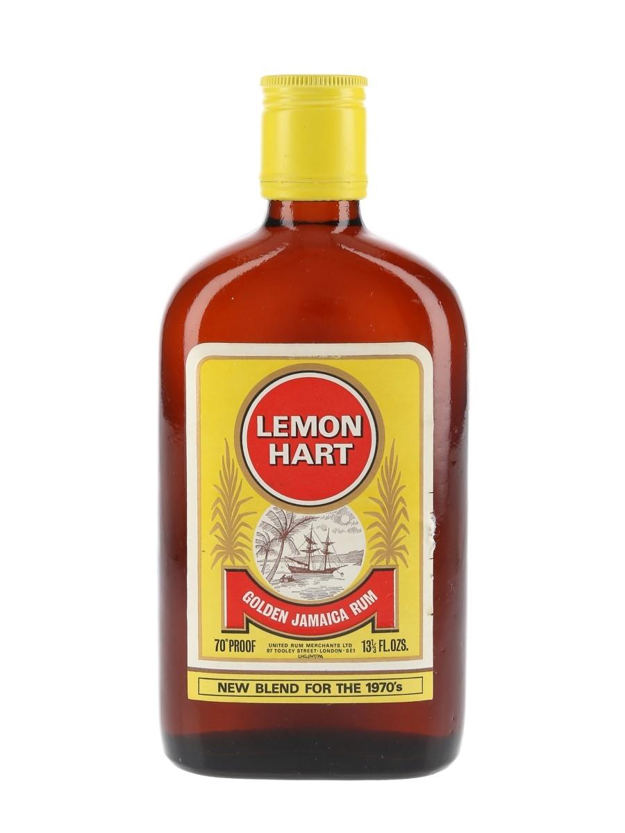 Lemon Hart Golden Jamaica Rum Bottled 1970s 37.8cl / 40%