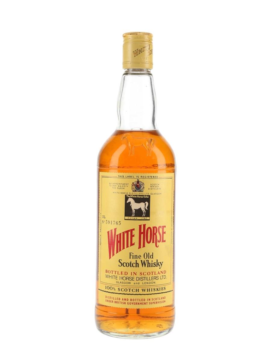 White Horse Bottled 1980s 75cl