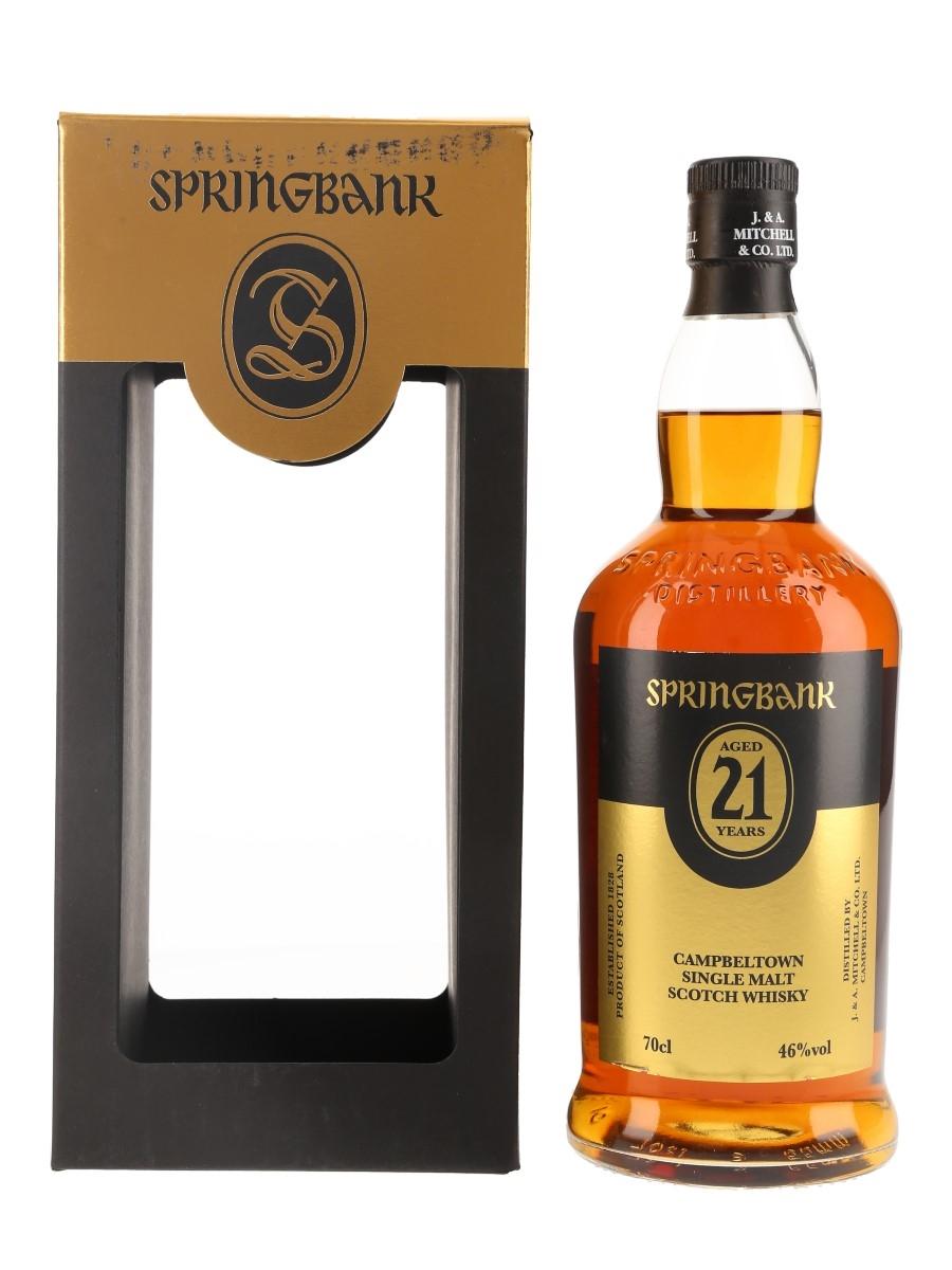 Springbank 21 Year Old Bottled 2017 70cl / 46%