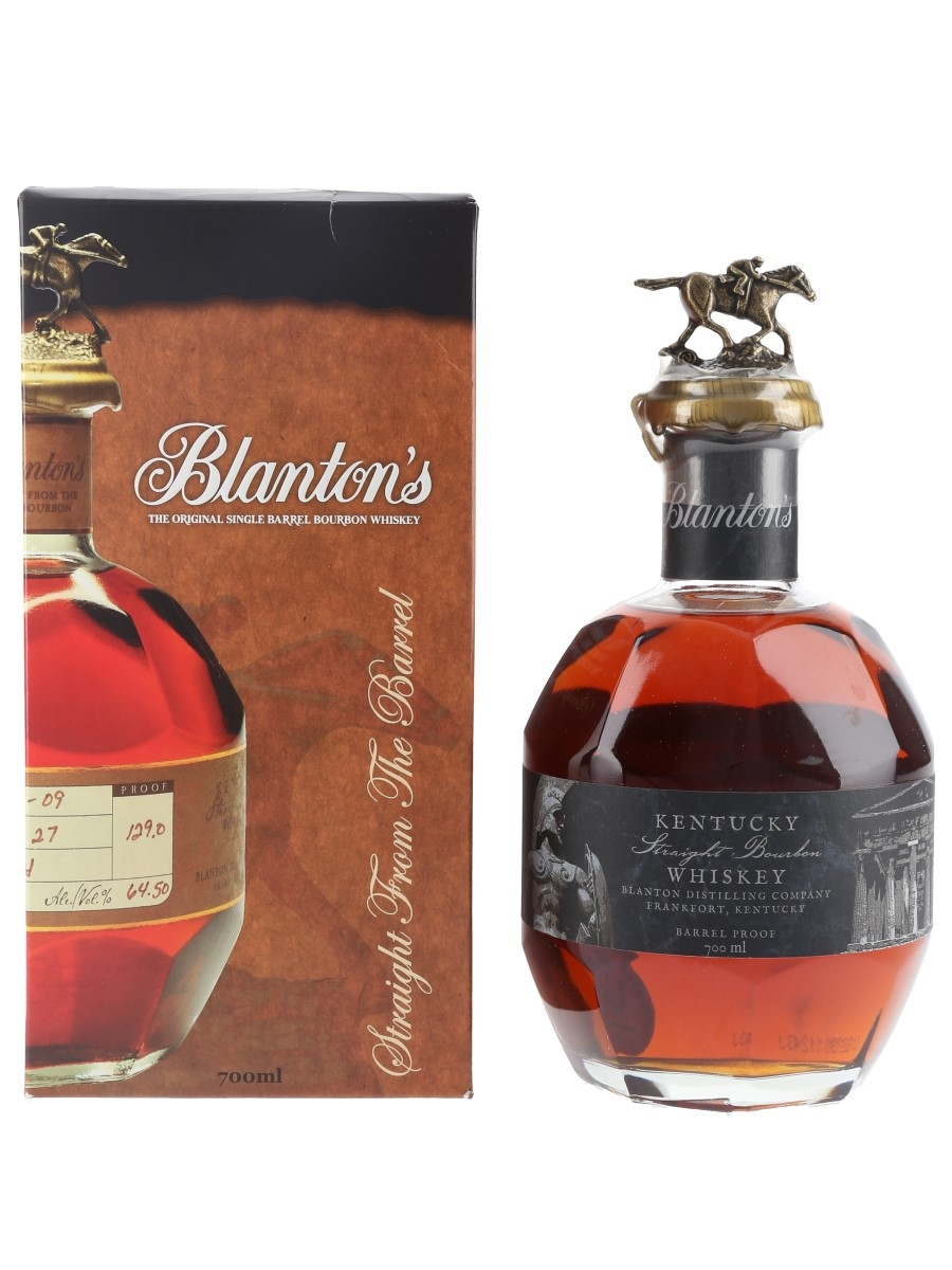 Blanton's Straight From The Barrel No. 1221 Bottled 2018 - Greek Release 70cl / 64.8%