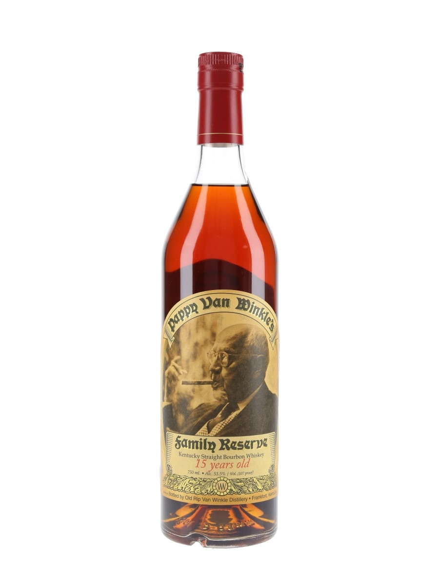 Pappy Van Winkle's 15 Year Old Family Reserve Bottled 2017 75cl / 53.5%