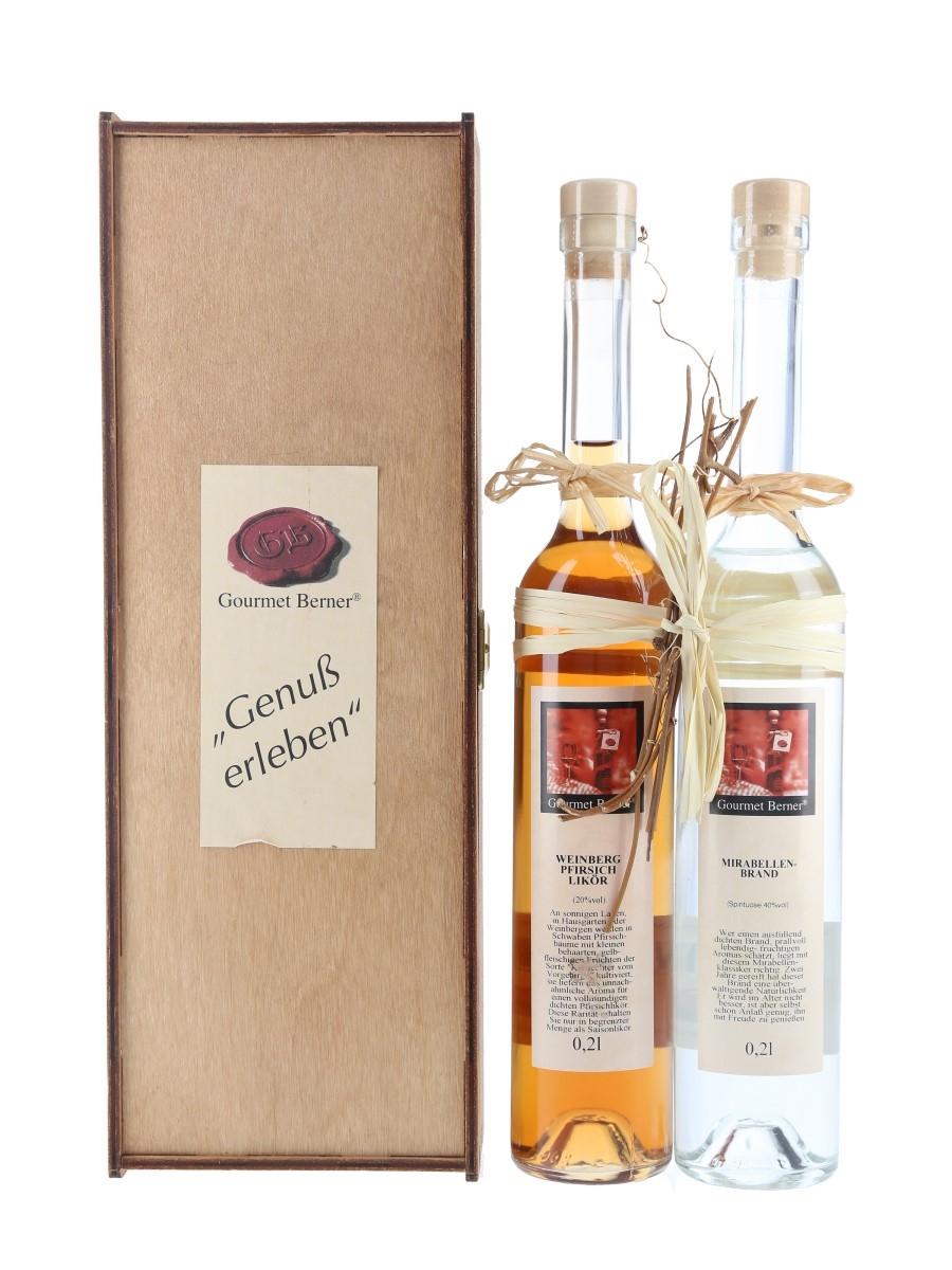 Gourmet Bernet Eau De Vie & Liqueur  2 x 20cl