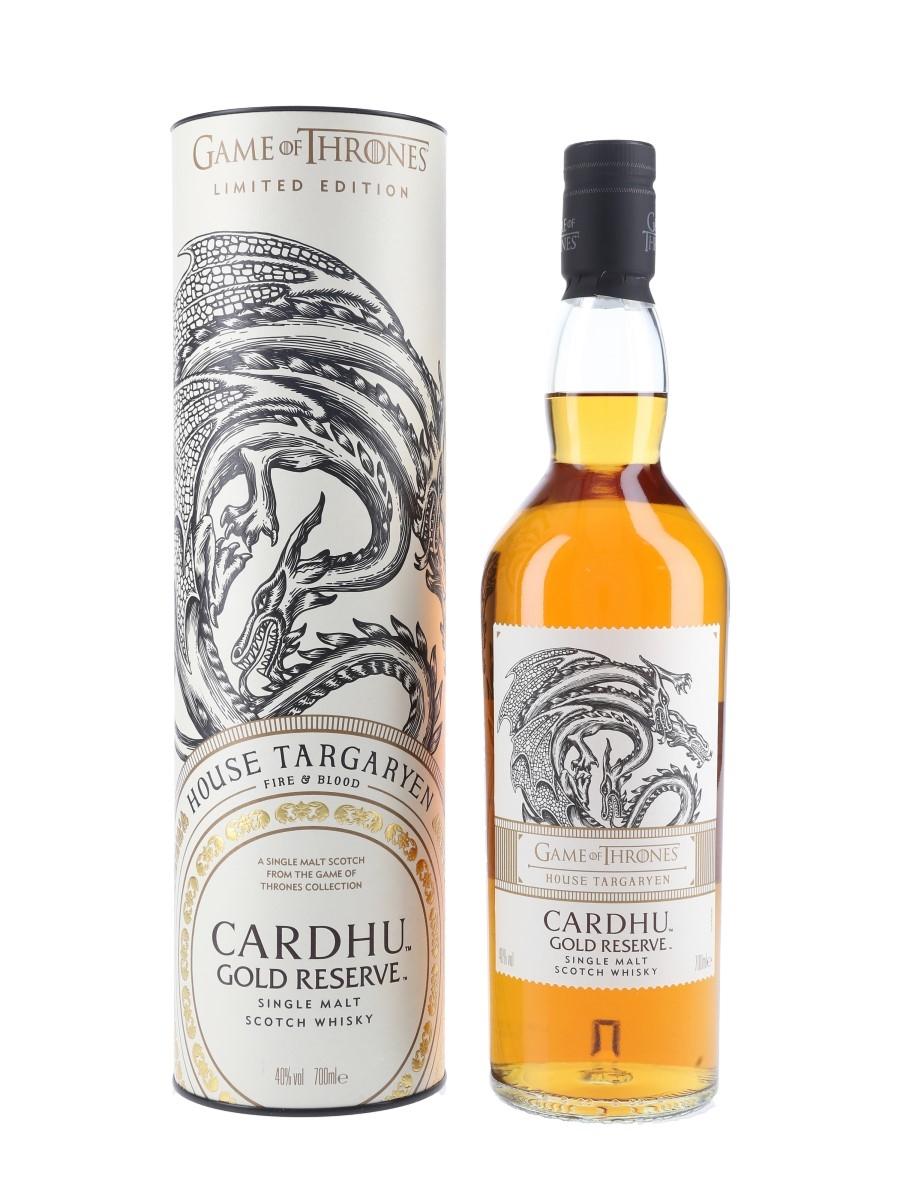 Cardhu Gold Reserve Game Of Thrones - House Targaryen 70cl / 40%