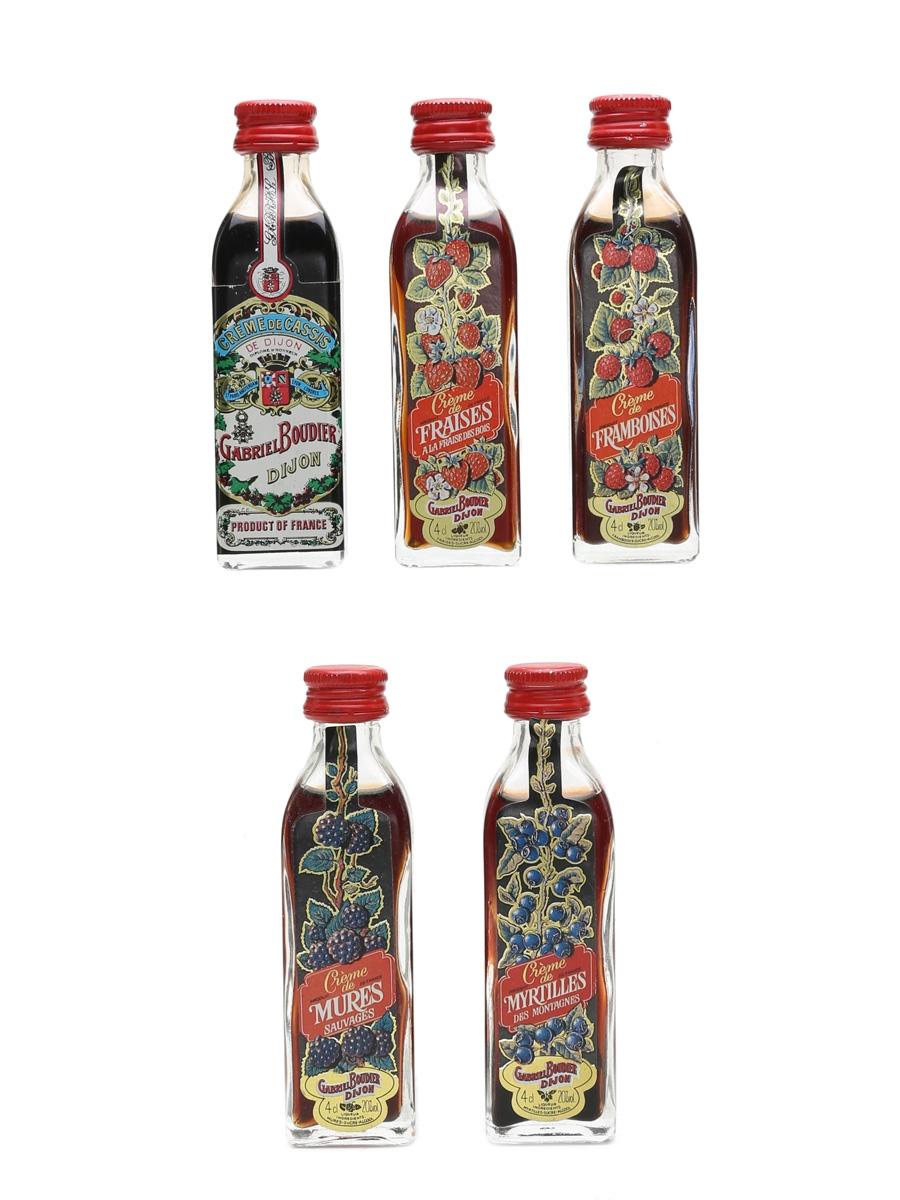 Gabriel Boudier Liqueurs Assorted Miniatures 5 x 4cl