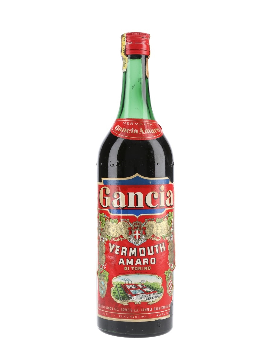 Gancia Vermouth Bottled 1960s 100cl / 16.8%