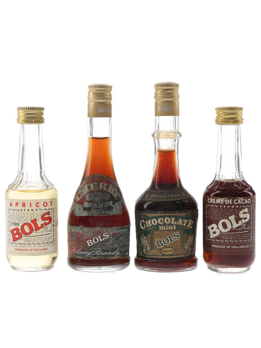 Assorted Bols Liqueurs  4 x 5cl