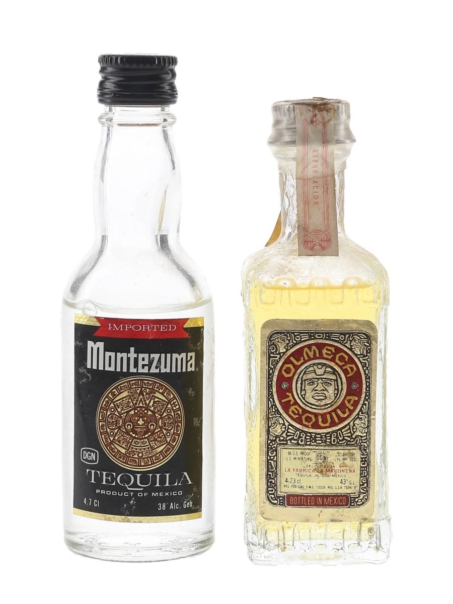 Montezuma & Olmeca Tequila  2 x 4.7cl