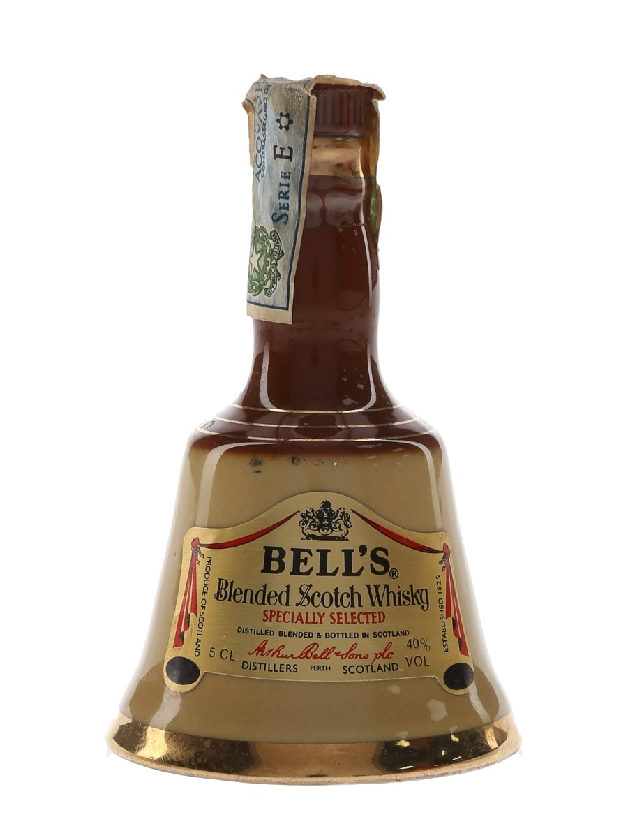 Bell's Old Brown Decanter Bottled 1970s-1980s - Italbell 5cl / 40%