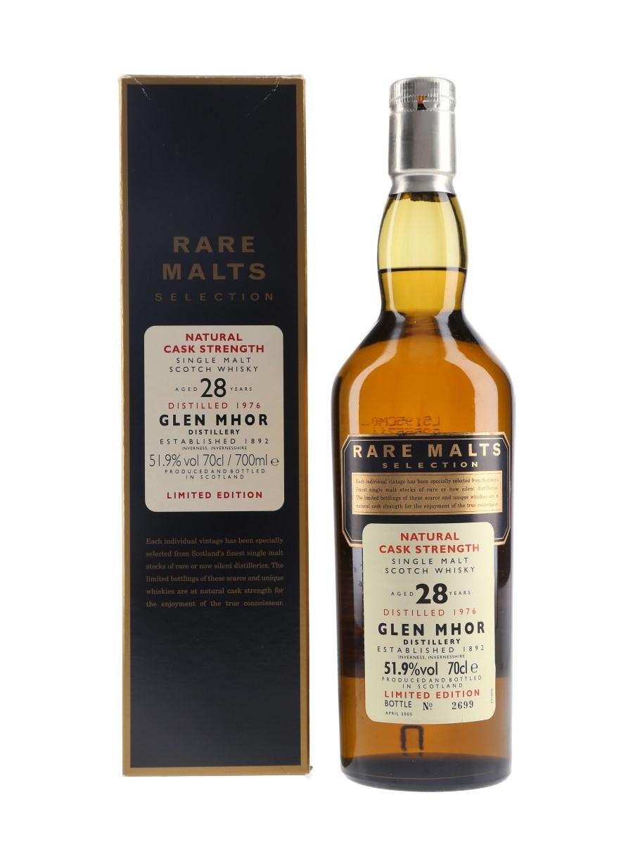 Glen Mhor 1976 28 Year Old Bottled 2005 - Rare Malts Selection 70cl / 51.9%
