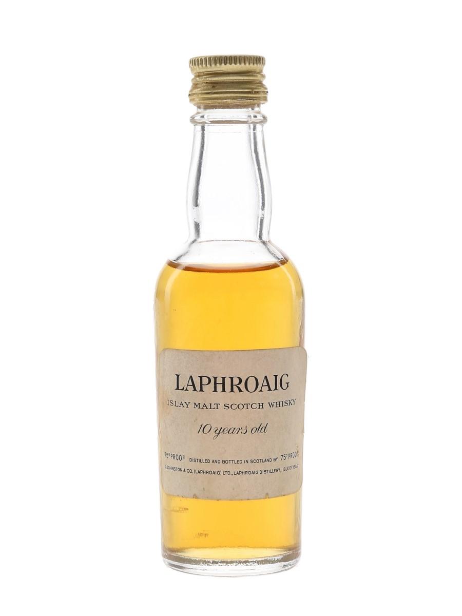 Laphroaig 10 Year Old Bottled 1960s 5cl / 43%