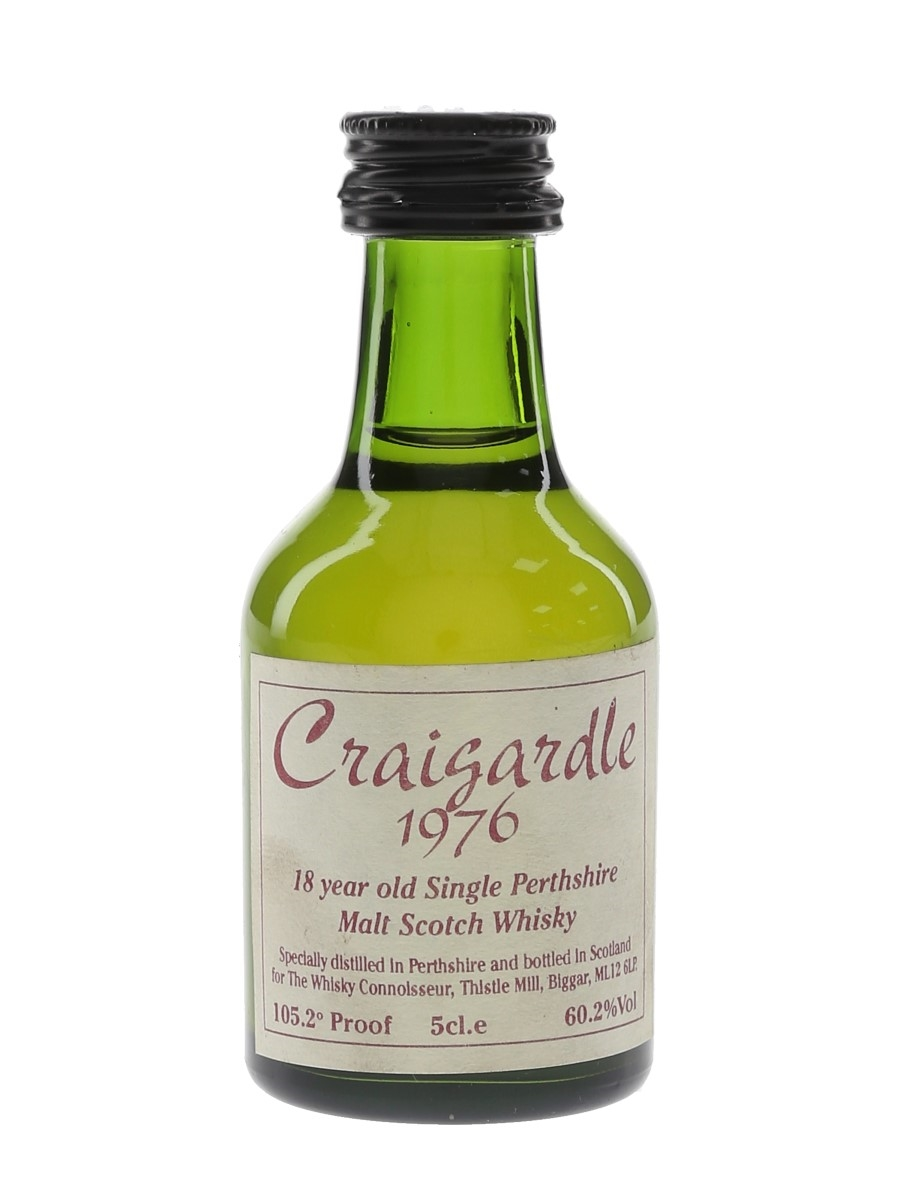 Craigardle 1976 18 Year Old The Whisky Connoisseur 5cl / 60.2%