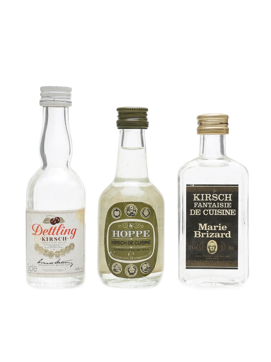 Kirsch Miniatures  3 x 5cl