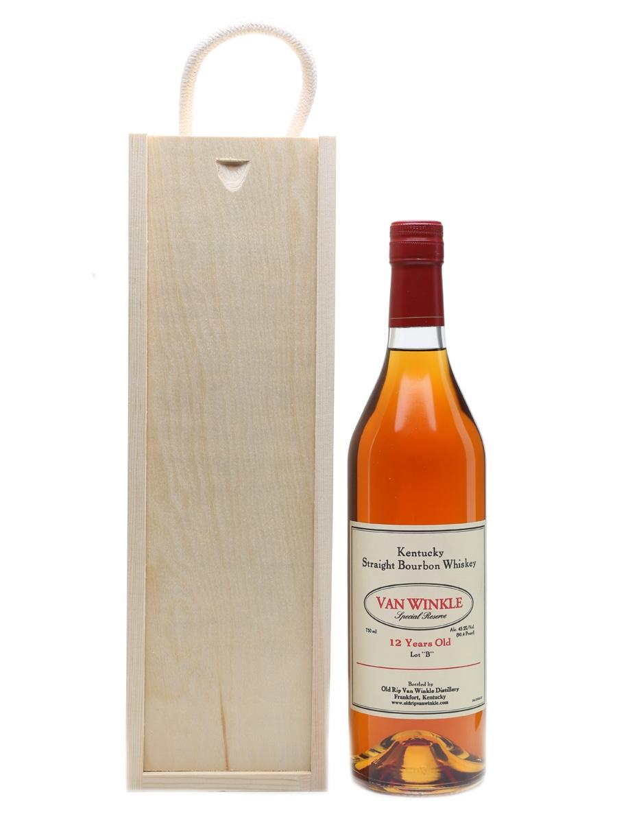 Van Winkle 12 Year Old Lot 'B' Bottled 2015 75cl / 45.2%