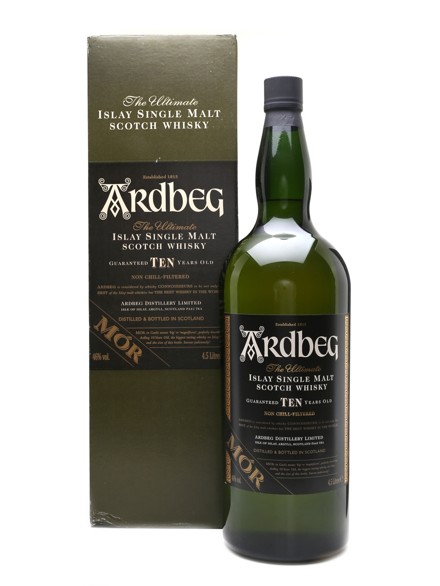 Image result for ardbeg mor 46%