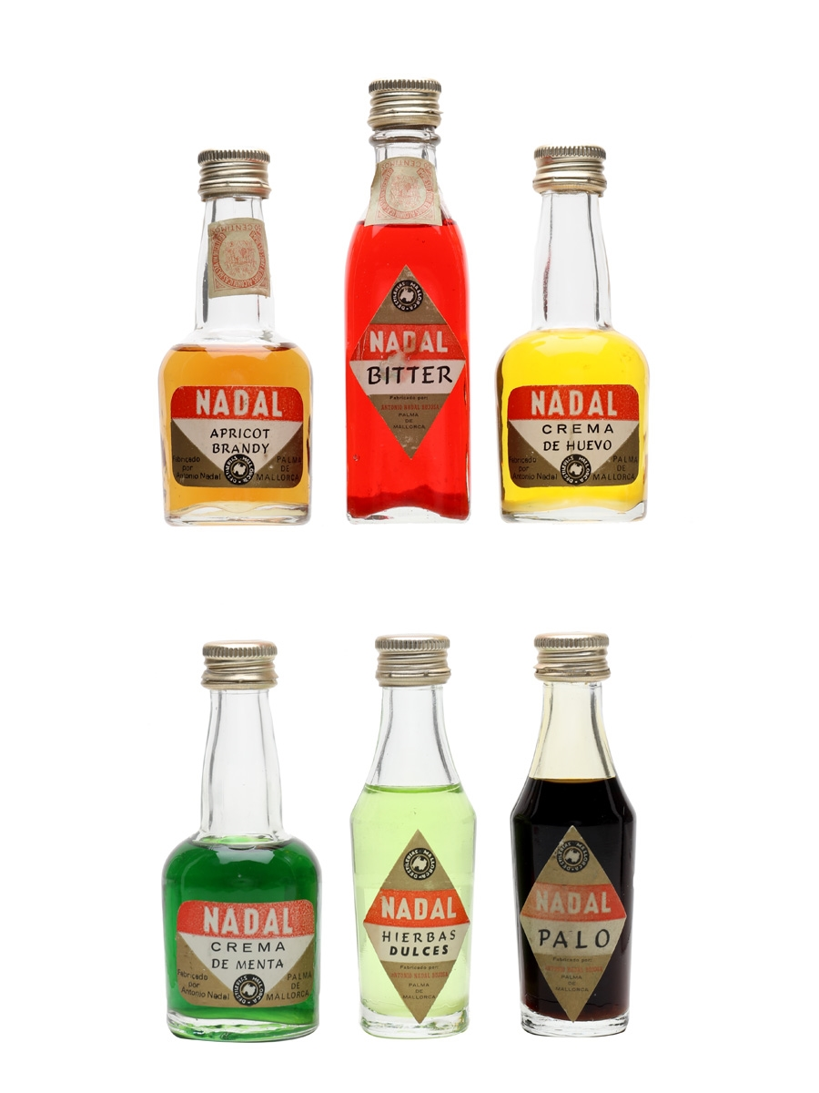 Assorted Nadal Liqueurs  6 x 5cl