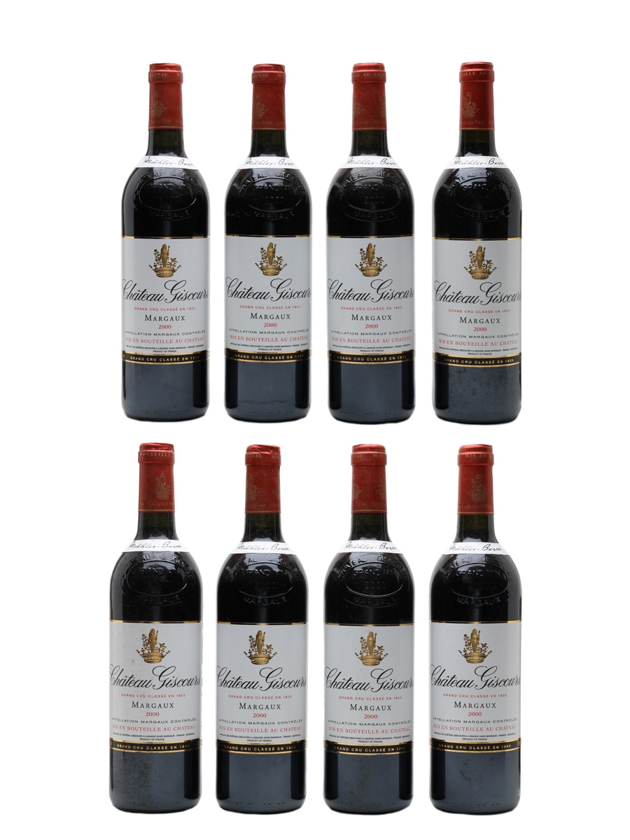 Chateau Giscours 2000 Margaux 8 x 75cl / 13%