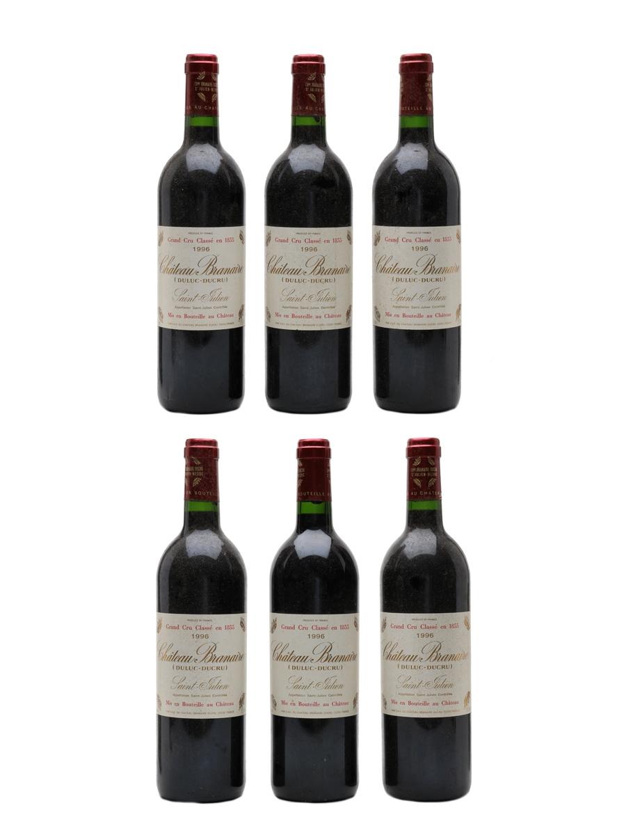 Chateau Branaire Ducru 1996 Saint Julien 6 x 75cl / 13%