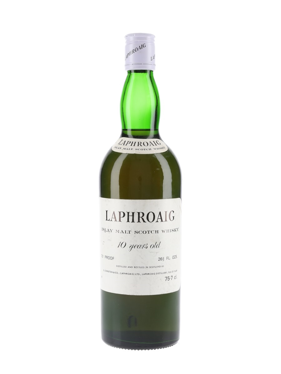 Laphroaig 10 Year Old Bottled 1970s 75.7cl / 40%