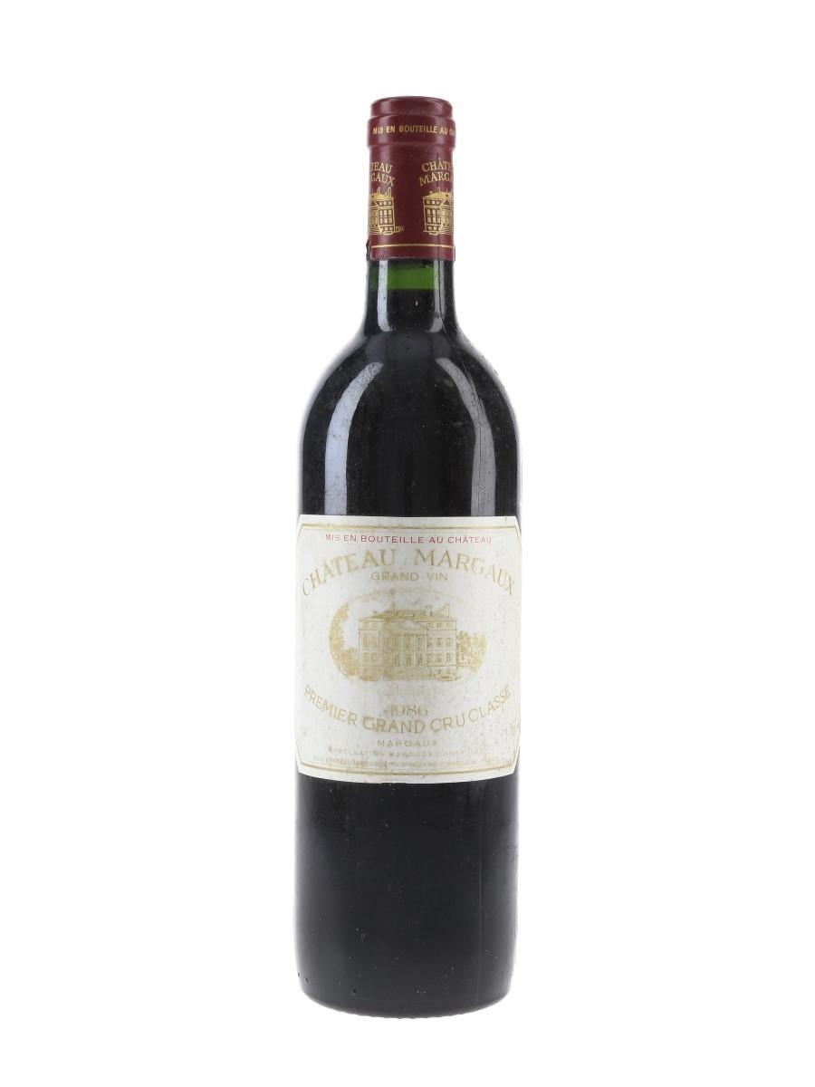 Chateau Margaux 1986 Premier Grand Cru Classe 75cl / 12.5%