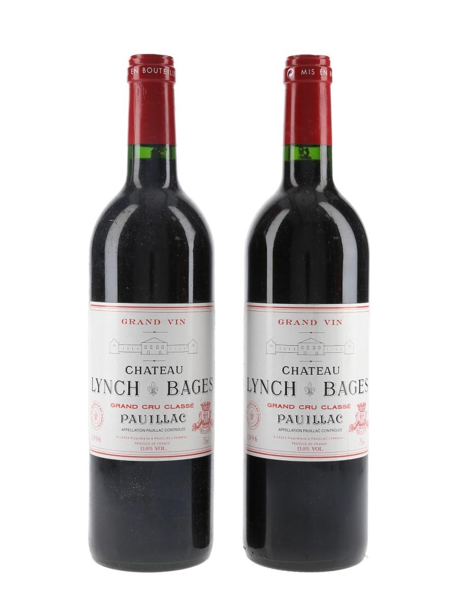 Chateau Lynch Bages 1996 Pauillac Grand Cru Classe 2 x 75cl / 13%