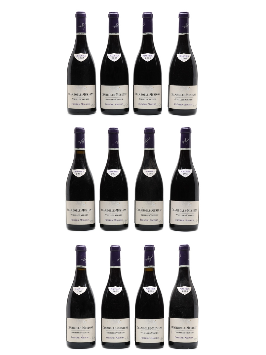 Chambolle Musigny Vielles Vignes 2003 Frederic Magnien 12 x 75cl / 13%