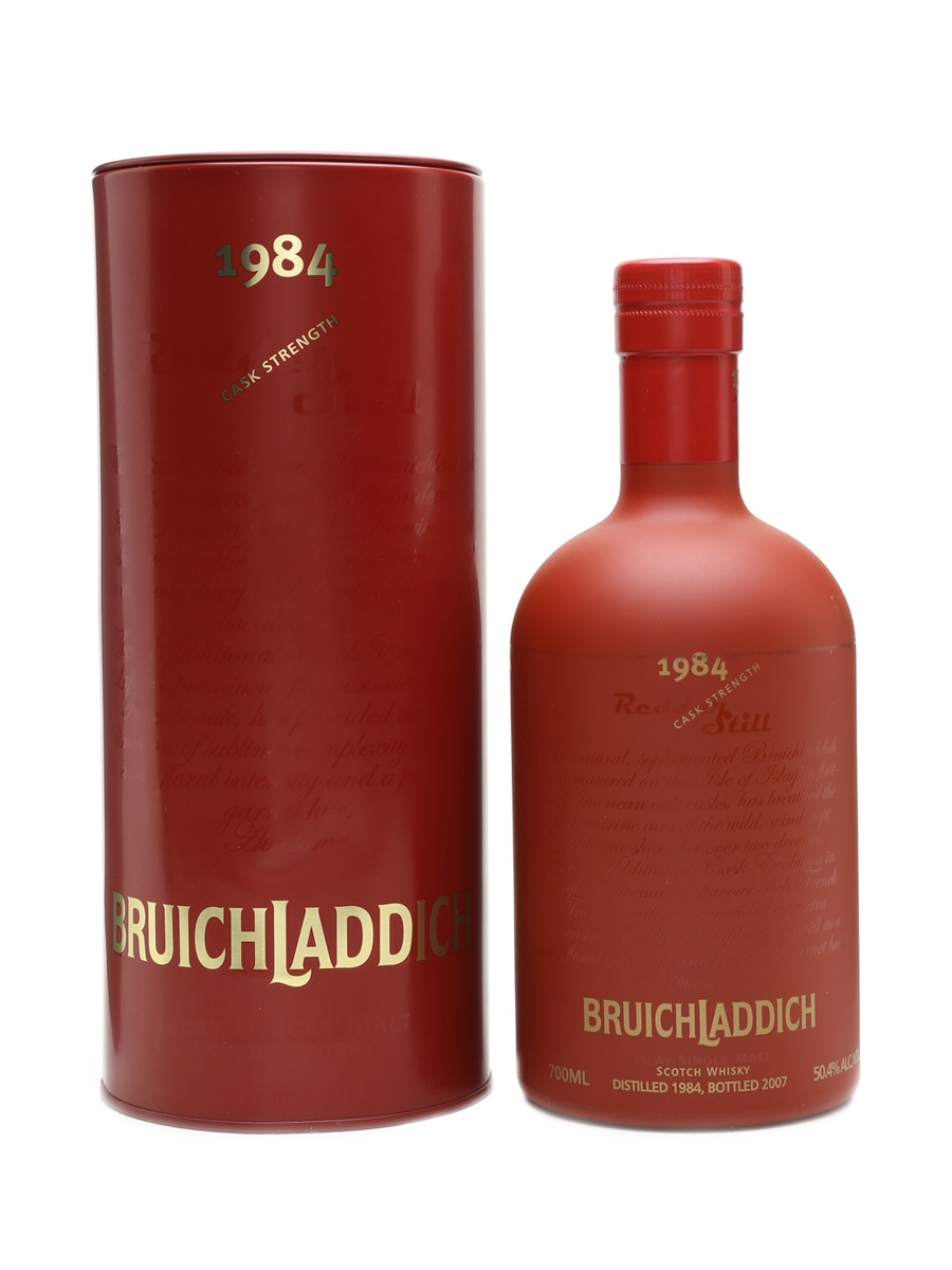 Bruichladdich 1984 Redder Still 70cl / 50.4%