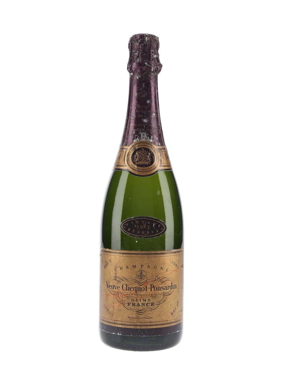 Veuve Clicquot Ponsardin 1983 Carte Or 75cl / 12%