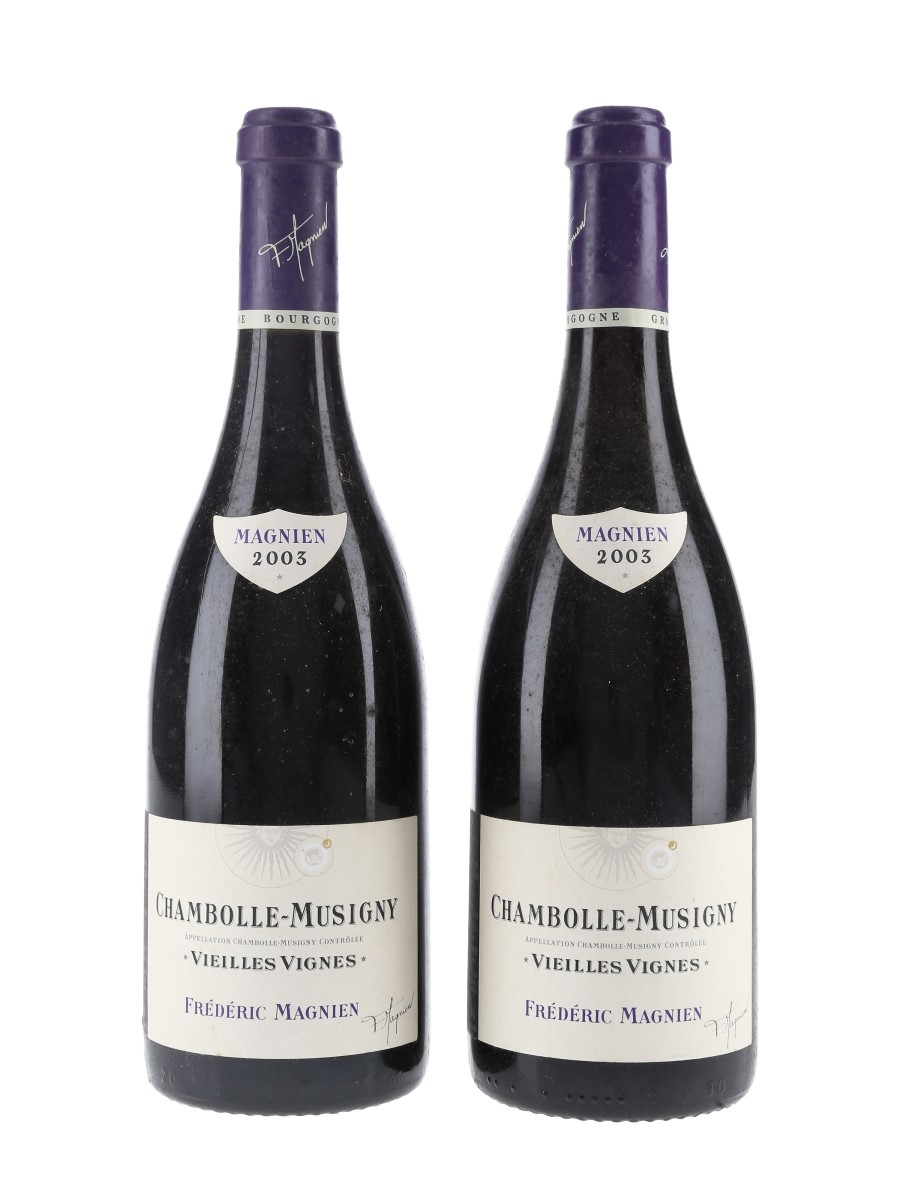 Chambolle Musigny Vielles Vignes 2003 Frederic Magnien 2 x 75cl / 13%