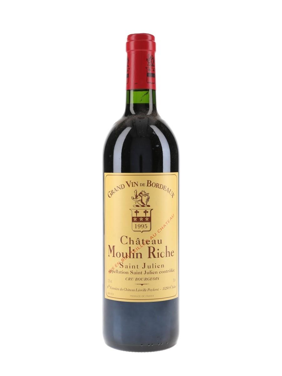 Chateau Moulin Riche 1995 Saint Julien 75cl / 12.5%