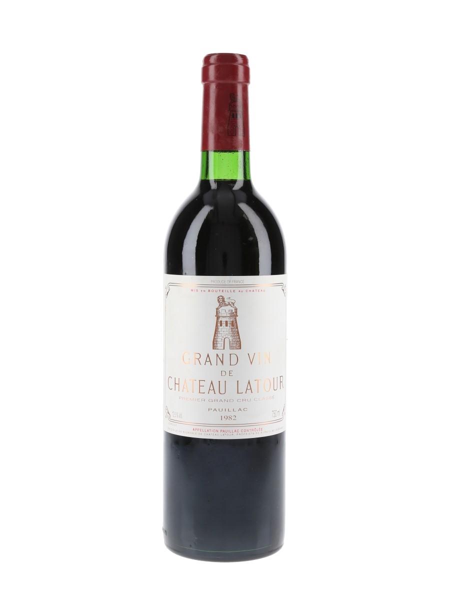 Chateau Latour 1982 Premier Grand Cru Classe - Pauillac 75cl / 12.5%