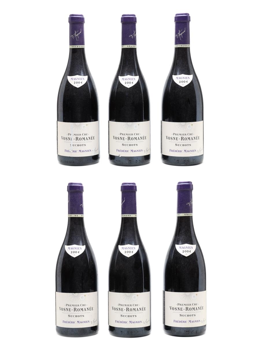 Vosne Romanee Les Suchots 2004 Premier Cru - Frederic Magnien 6 x 75cl / 13%