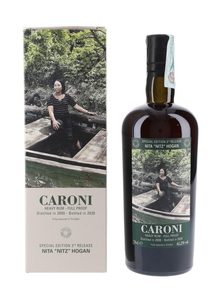 Caroni 2000 Heavy Rum Full Proof 3rd Employees Release Bottled 2020 - Nita 'Nitz' Hogan 70cl / 65.2%